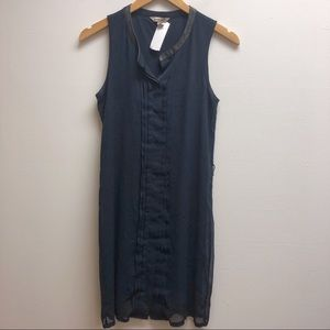 Banana republic 4 navy short sleeveless dress